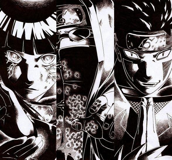 Hinata, Kiba & Shino