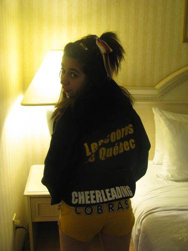 Les Cobras de Québec, cheerleading :)