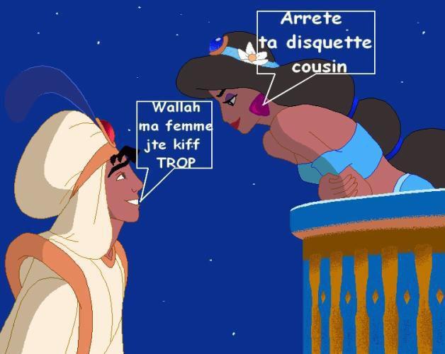 Aladdin et Jasmine