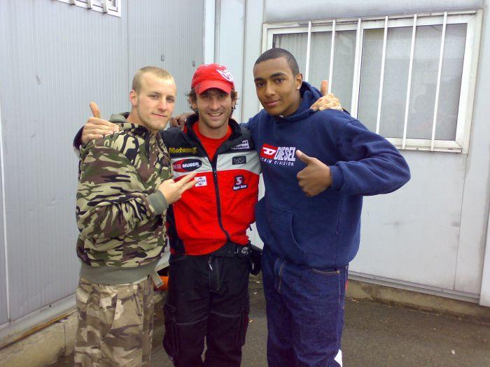 moi,zoltan(champion du monde),cyssko(mon frère)