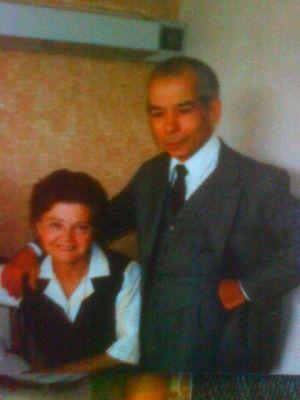 Mi Abuela Espagnole  y Mi Abuelo Cubain Allah y Rahmou .