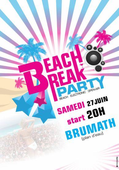 Beach Break party - 27juin @ plan d'eau Brumath