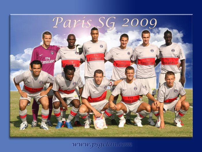 SAISON 2009....PARIS SAINT GERMAIN..!!