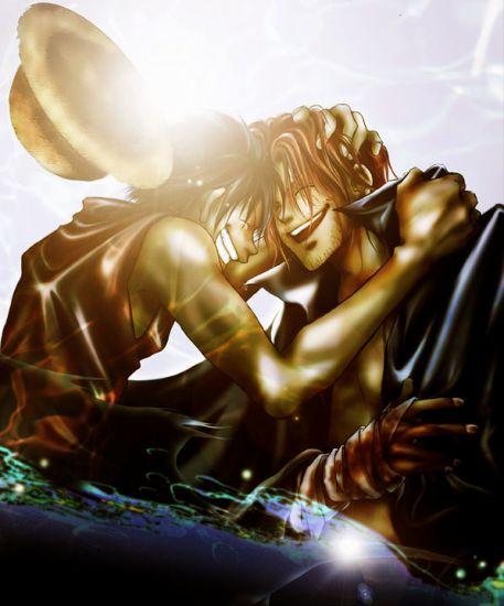 Luffy et Shanks: Retrouvailles *Kawaiiiii !!! ^-^*