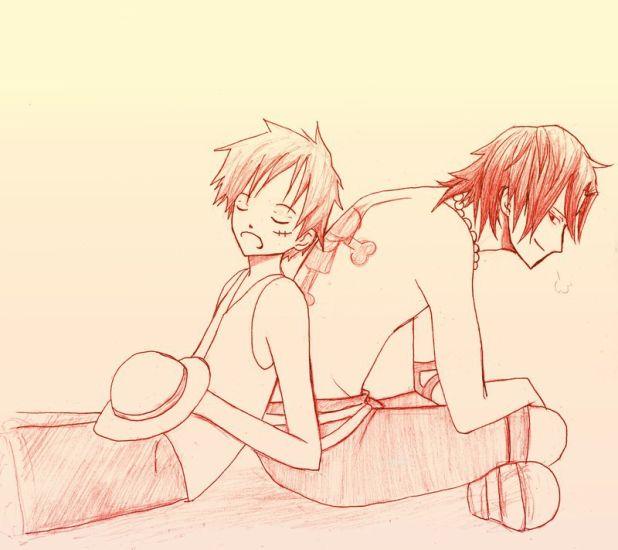 Brotherhood *Luffy, Ace: <3 ^^*