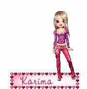 mon prénom: karima