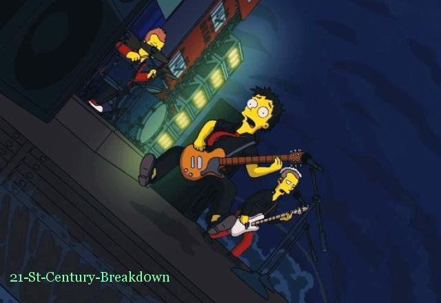 Green Day En Simpsons :D