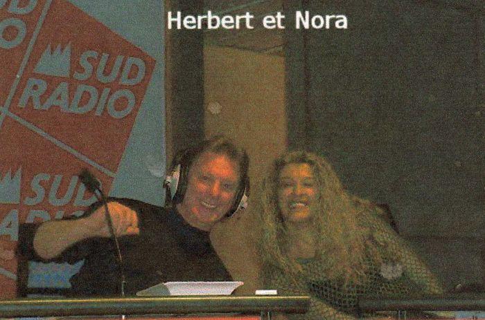SUD RADIO HERBERT LEONARD ET NORA