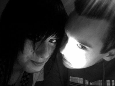 ancienne photo de moi et Miléva.