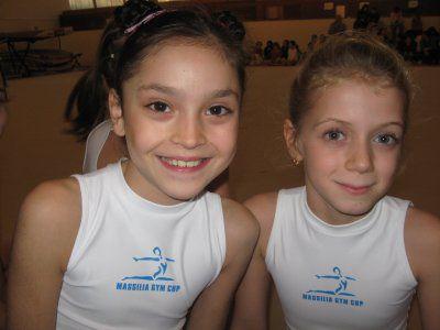 ophélie et ma soeur a la gym