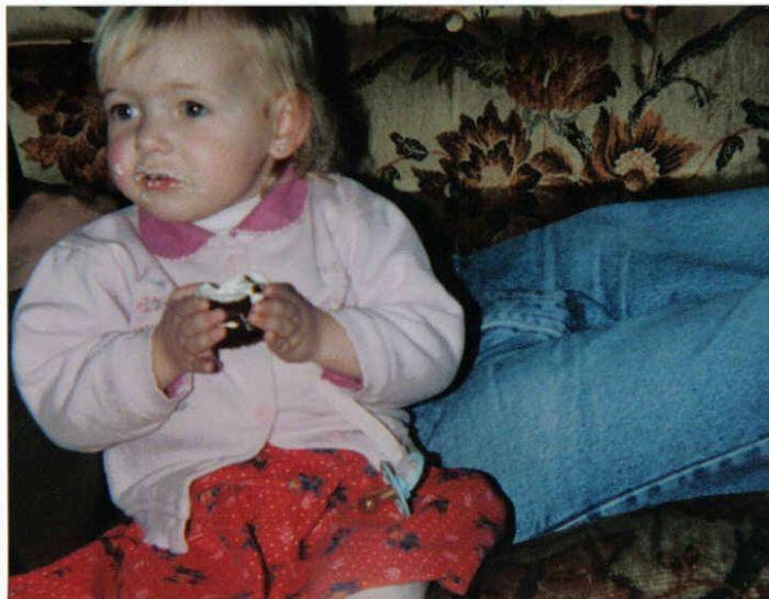 Moi , quand j'était petite.