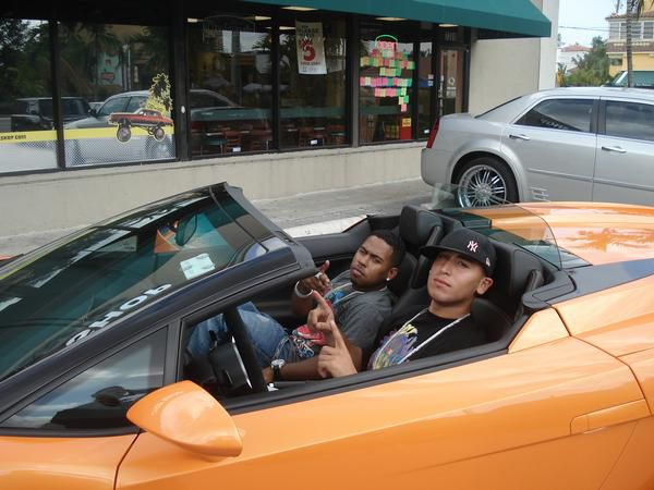 DJ KING SAMS and BoBBY. V