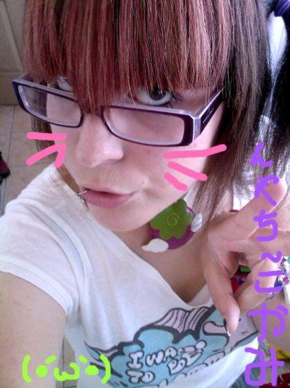 Moi et mes lunettes ... T^T