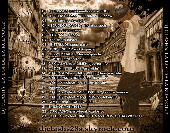 ma 2ieme mixtape  la playlist