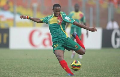 L'international Malien Seydou Keita