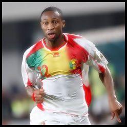L'international Malien Seydou Keita