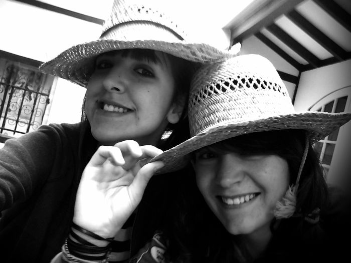 Cosette et moi .<3