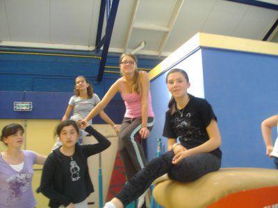 Les filles de la gym