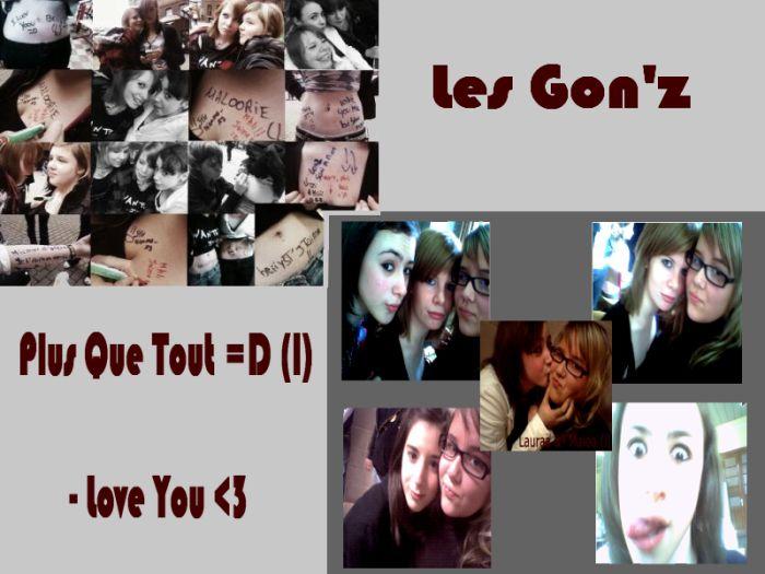 Les Gooonz' ;D Un an de Bonheur avc Vous (a)