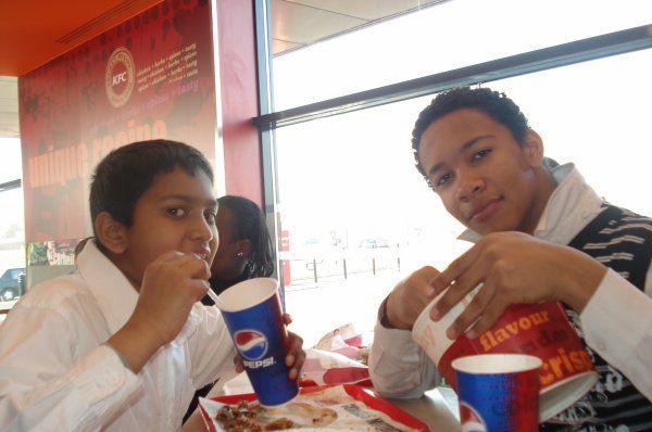 KFC avec Bruno
