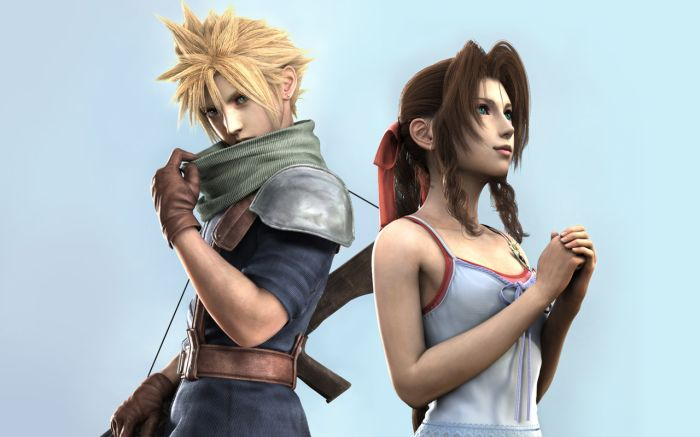 FF VII - Cloud and Aerith