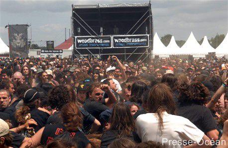 Hellfest 2009  60 000 festivaliers sur 3 jours et 107 groupe