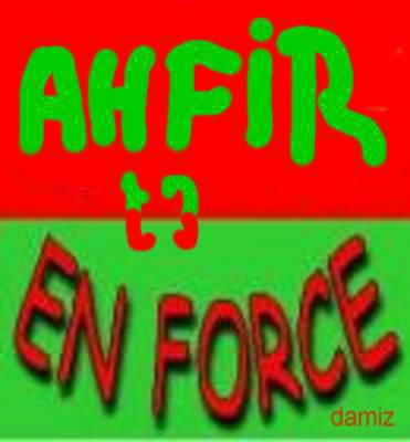 Ahfir en force