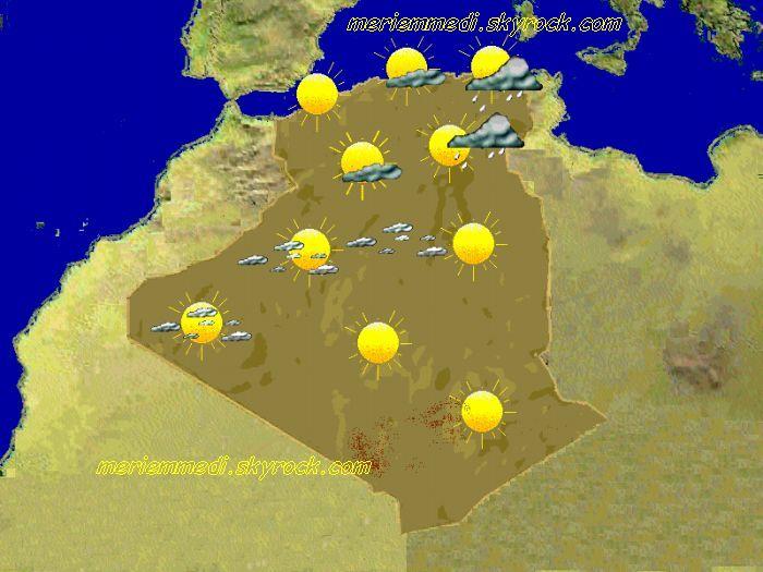 meteo algerie